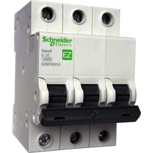 Easy9 3Р C6А Schneider electric