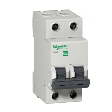 Easy9 2Р C6А Schneider electric
